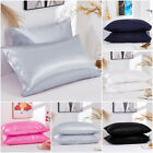 2019 Pillowcases Momme 100% Pure Satin Silk Both Sides Natural Cover For Hair image