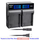 Kastar Battery LCD Rapid Charger for Energizer ERC610 Fuji VMBPL30A VMBPL60A