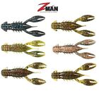 "ZMAN TRD CRAWZ  2.5"" NED RIG SOFT PLASTIC JIG TRAILER BASS LURE JIG SELECT COLOR"