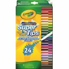 Crayola Supertips Felt Tips Pens - Bright Washable Markers - Pack of 12, 24 & 50