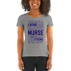 Nurse Scrub Top Tee Ladies' Short Sleeve T-Shirt Fit USA