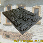 Wall Stone Concrete Molds DIY Plaster Cement Tiles Paving Pavement Mould Maker ❤ image