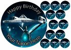 "Star Trek 7.5"" Cake Topper +12 Cupcake Topper Birthday Wafer, icing sheet.845 on eBay"