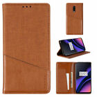 RFID Blocking For OnePlus 6 6T 8T /Nord Wallet Leather Magnetic Flip Case Cover