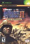 CONFLICT DESERT STORM 2 BACK TO BAGHDAD for Original Microsoft Xbox System