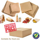 Brown Kraft Sulphate Strung Food Sweets Sandwich Grocery Fruit Lunch Paper Bags