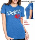 Los Angeles Dodgers Ladie's Cut CUSTOMIZE your Name & Number Jersey Style Shirt on Ebay