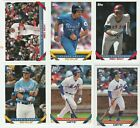 2019 TOPPS ARCHIVES BASEBALL 1993 DESIGNED U-PICK COMPLETE YOUR SET ALONSO RC on Ebay