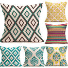 Bohemian Throw Cotton Waist Geometric Pillow Cover Sofa Cushion Decor Home Case image