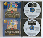 American Greetings CreataCard, Gold 2.0, 4.0, Platinum 5.0, 6.0 - CDROMs