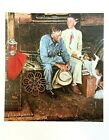 """VTG Norman Rockwell Art Print 9"""" x 11"""" FAMILIES - SEE VARIETY"""