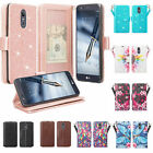LG Stylo 5 / Stylo 5 Plus Cute Wallet Phone Case w/ Kickstand for Girls Women