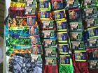 2 Equipo Boxer Briefs Men New Tags Black Brown Blue Green Gray Variety Designs
