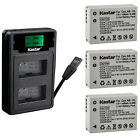 Kastar Battery LCD Dual Charger for Canon NB-10L CB-2LC Canon PowerShot SX50 HS
