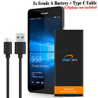 1x Microsoft Lumia 950 Replacement Battery BV-T5E (3770mAh) w/ Reversible Cable