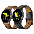 20mm Genuine Leather Watch Band Strap For Samsung Galaxy Watch Active 1/2 40/44 image