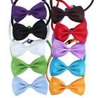 Pet Cat Dog Collar Bow Tie Adjustable Neck Strap Grooming Product Supplies