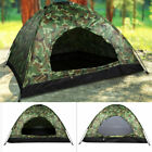 Outdoor Camping Waterproof 4 Season 1-3 Person Folding Tent Camouflage Hiking