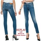 Jeans REPLAY pantaloni da donna LUZ skinny fit aderente power stretch WX689R 189