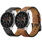 Premium Genuine Leather Watch Band Strap For Samsung Galaxy Watch 46mm 42mm image
