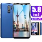 "S10 Android 8.1 5.8"" Mobile Unlocked Smart Phone Quad Core Dual Sim 1g + 16g"