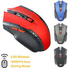 2 4ghz usb wireless optical gaming mouse adapter receiver for desktop laptop pc