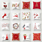 "18x18"" Christmas Pillow Case Sofa Car Throw Cushion Covers Home Decor"