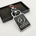 Metal Leather car Key Chain Key Ring pendant Key Holder Fit For Mercedes-Benz