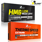 HMB + THERMO SPEED EXTREME - Anticatabolic Lean Muscle & Fat Burner Weight Loss