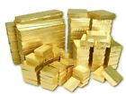 Gold Cotton Filled Jewelry Boxes Lots of 25-50-100