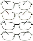Kyпить 4 Pack Reading Glasses Readers Men Women Metal Frame Spring Hinge на еВаy.соm