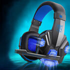PC laptop LED light Stereo headphone headSet gaming headSet with microphone