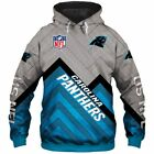 Carolina Panthers Hoodies 3D Sweatshirt Jacket Pullover With Hooded $42.99 USD on eBay