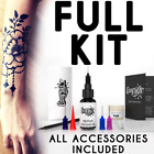 Kyпить Easy.ink™ Freehand Temporary Tattoo Ink kit,SUPER DARK INK,pure Jagua,NOT Henna на еВаy.соm