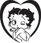 Betty Boop Sticker Vinyl Decal All Colours - Betty033 £4.99 GBP on eBay