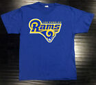 Los Angeles Rams Alt T-Shirt Graphic Cotton Logo LA Adult Men Alternate $13.99 USD on eBay