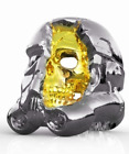 STAR WARS STORM-TROOPER SKULL RING STAR WARS SILVER AND GOLD PLATED $22.5 USD on eBay