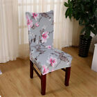 6Pcs Set Dining Room Wedding Banquet Chair Cover Party Decor Seat Cover Stretch