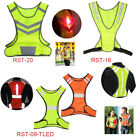 Reflective Safety Vest with LED Light High Visibility for Night Running Cycling