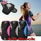 Men Women Armband Running Arm Bag Cell Phone Case Pouch Holder Joggers Sports US image