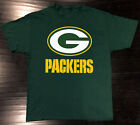 Green Bay Packers T-Shirt Graphic Cotton Logo GB Adult Men $13.99 USD on eBay