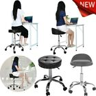 Hydraulic Salon Chair Office Chair Beauty Salon Work Bench Bar Chair Black