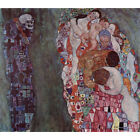HD Canvas Painted Painting Home Decor Death And Life Gustav Klimt #PP543