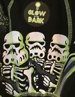 NEW Disney Star Wars Skeleton Men's S, M, L Black Boxer Briefs Glow in the Dark $8.88 USD on eBay