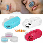 Mini Silicone Apnea Aid Device Anti Snore Stop Snoring Adjustable Nose Clip S4