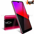 6.3in Unlocked Android 9.0 Smartphone Dual SIM Cell Phone 4 Core Cheap T-Mobile