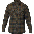 Fox NEW Men's Traildust 2.0 Flannel Shirt - Black BNWT
