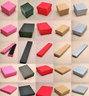 12  X Top Quality Jewellery Gift Boxes  Wholesale/ Bulk Buy - Assorted Sizes