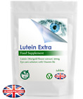 High Strength Lutein 50mg and Vitamin B2 Eye Health Tablets, Retinopathy, UK (V)