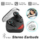 V5.0 Mini TWS Twins True Wireless Bluetooth In-Ear HD Earphones Headset Earbuds